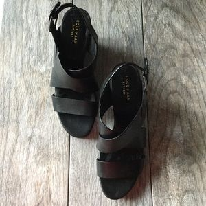 Cole Haan Strappy Wedges